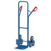 Diables escalier acier 2x3 roues - Charge : 200 kg
