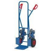Diables escalier acier 2x5 roues - Charge : 200 kg