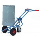 Diables à fûts avec roue directionnelle - Charge : 300 kg