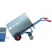 Diables à fûts avec 2 roues d'appui - Charge : 300 kg