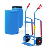 Diables pour tonneau en plastique - Charge : 250 kg