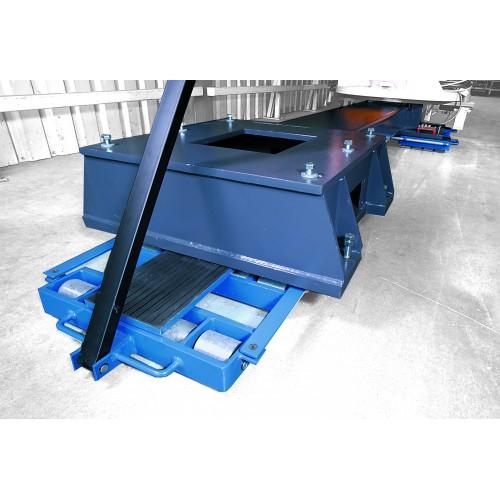 Rouleurs pivotans - Charge : 12000 kg