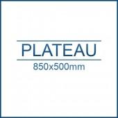Plateau ESD 850 x 500 mm