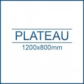 Plateau rabattable 1200 x 800 mm