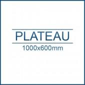 Plateau 1000 x 600 mm