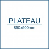 Plateau 850 x 500 mm