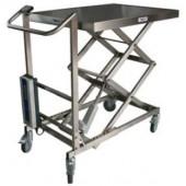 Table élévatrice électrique inox 100 kg