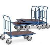Chariots emboîtables à 1 plateau