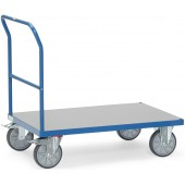Chariots à dossier et plateau PVC