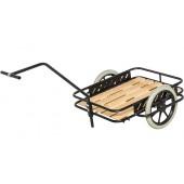 Chariot à bras léger et plateau bois