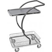Chariot de service design avec panier