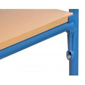 Barres transversales pour plateau 1000 x 600 mm (x2)