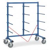 Barre verticale pour chariots à barres de portées horizontales
