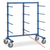 Barre verticale du milieu pour chariot à barres de portée