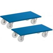 Rouleurs de meubles livrés par deux