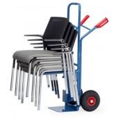 Diables à chaises avec support boulonné - Charge : 300 kg