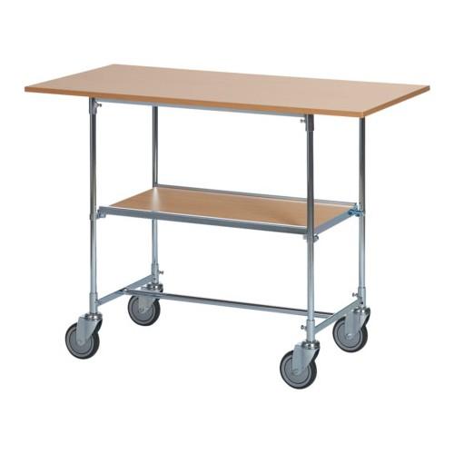 Tables roulantes grand modèle