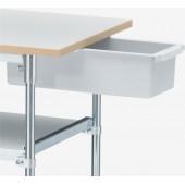 Bac-tiroir 370x150x100 gris clair