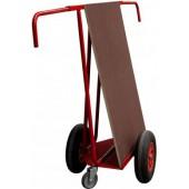 Chariot porte-panneaux chantier