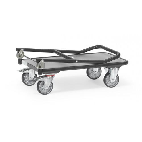 Chariots pliables en acier