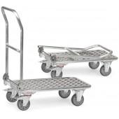 Chariots pliables en aluminium