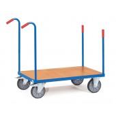 Chariots à barres de poussée