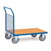 Chariots à 1 ridelle à treillis en métal