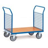 Chariots à 2 ridelles à treillis en métal
