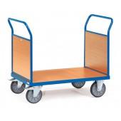 Chariots à 2 ridelles en mélaminé