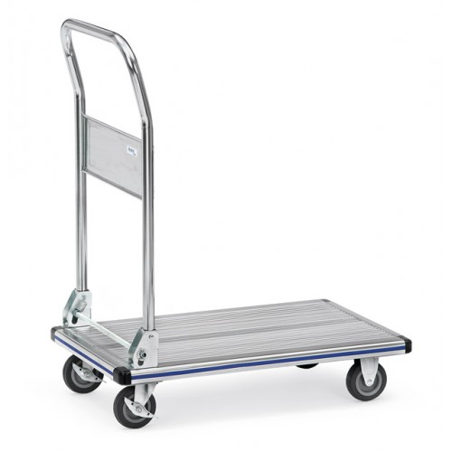 Chariot à plate-forme aluminium