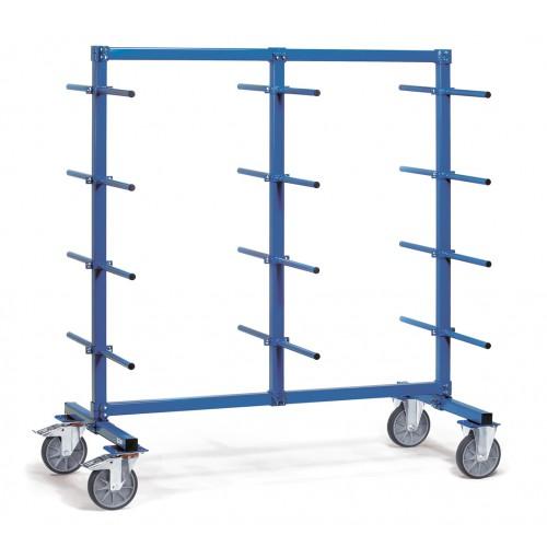Chariots à barres avec PVC à 2 faces