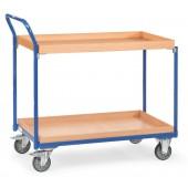 Servantes 250 kg à 2 caissettes et poussée verticale