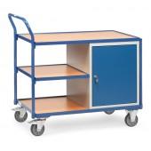 Servante d'atelier 250 kg à 1 étagère et 1 placard