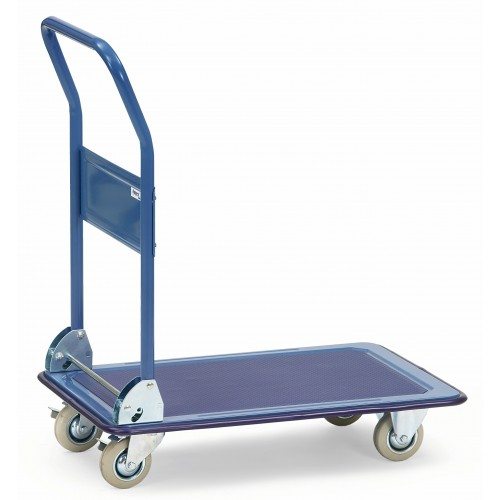 Chariots en acier avec 1 plateau