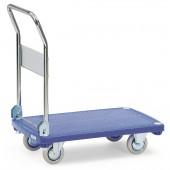 Chariot en plastique avec 1 plateau