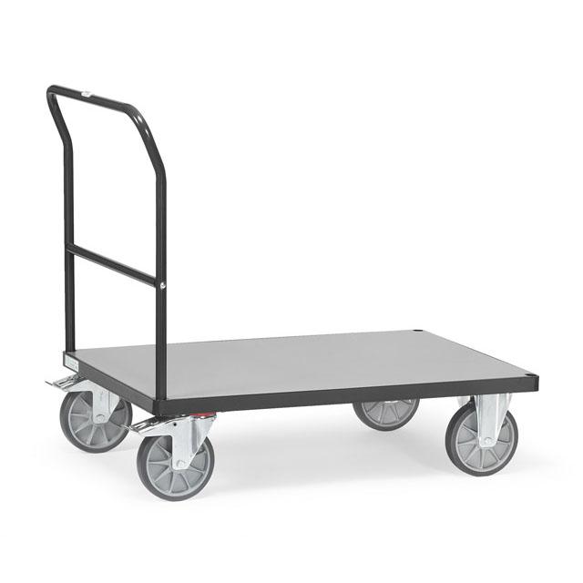 Chariots à dossier de poussée