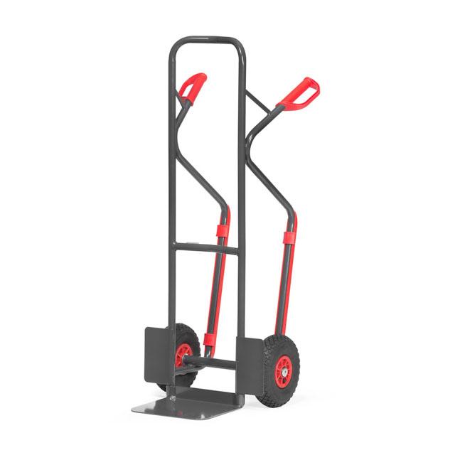 Diables en tube acier avec patins amovibles - Charge  :300 kg