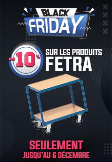 -10% sur tous les produits de la marque Fetra